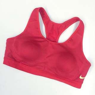 Nike側勾勾運動內衣(紅)