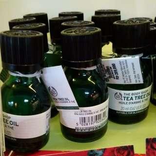 Tea Tree Oil The Body Shop