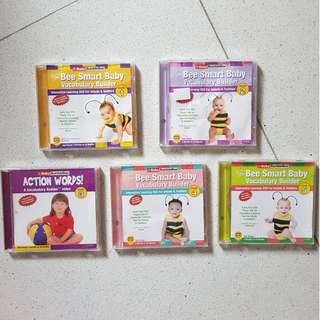 Baby Bumblebee Interactive Learning VCDs