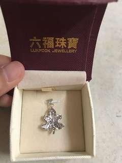 六福珠寶18k吊嘴