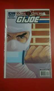 Gi Joe Civil war #3