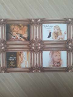 Taylor Swift Limited Edition Fearless Postcard