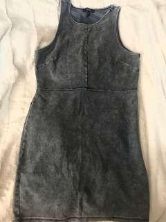 Denim Stretchy Dress (Medium)