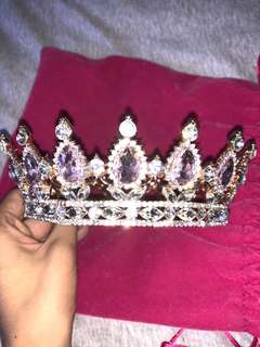 Pink Jewel Crown