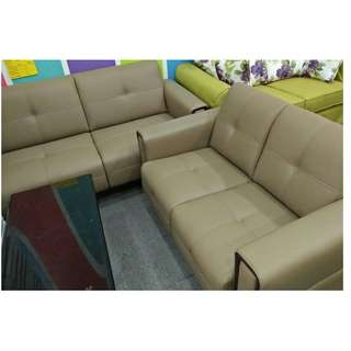 CASA LEATHER SOFA SEATER 2+3 / FREE DELIVERY