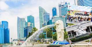 THREE CITIES PACKAGE (4D3N) Singapore, Malaysia, Indonesia