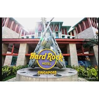 RWS Hard Rock Hotel Weekend Staycation (Jul 18)