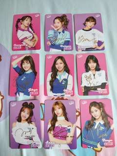 第25期 Twice Yes Card 金銀彩簽