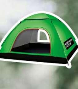 自動打開 帳篷