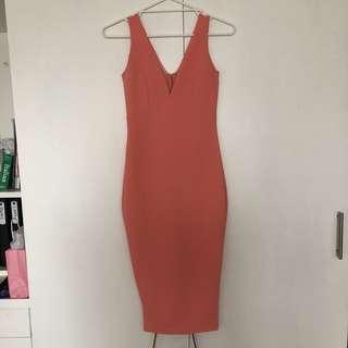Sunday's the label watermelon midi dress