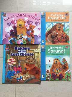 Bear in Big Blue House Series Of 4 Books