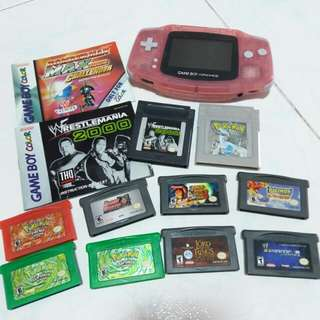 (Swipe left for more!) GAMEBOY SALES (clearing)