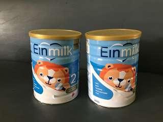 Einmilk stage 2