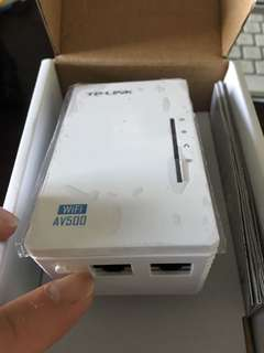 TP- link powerline Wifi Extender