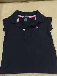 Poloshirt- Blue for Girls