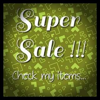 Super Sale!!