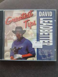 Quick sale - Golfing Tips Vcd by David Leadbetter