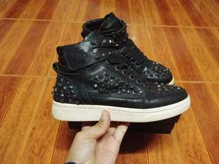 Ash limited edition rockstudded high cut sneakers