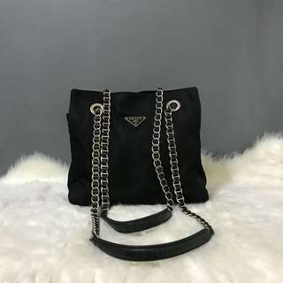 Authentic Prada Vintage Chain Bag
