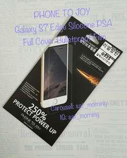 【包郵】韓國製 Samsung Galaxy S7 Edge Phone To Joy Full Cover Film