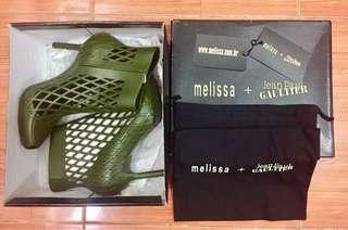 Authentic Melissa Mesh Pump+Jean Paul