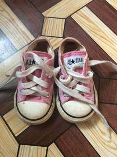Converse Pink Baby Shoes