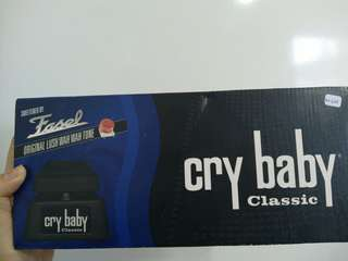 Dunlop Cry Baby Classic Effect Pedal