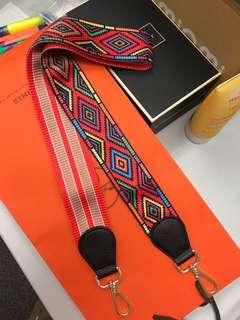 肩帶 可用於相機 名牌袋 strap Hermes Silk Twilly