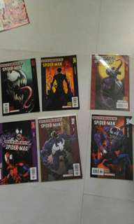 Marvel Spider-man Venom comic