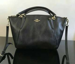 Coach Kelsey small leather ori 100%