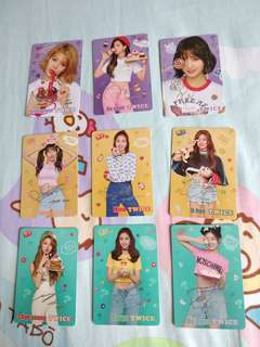 第 35 期 Twice  Yes Card   燙銀 銀簽
