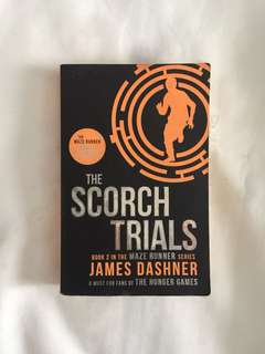Scorch trials from the maze runner series