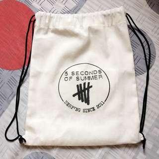 5SOS String Bag