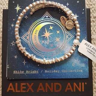 Alex and Ani Snowbell Bangle