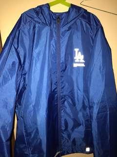 LA Dodgers rain coat.