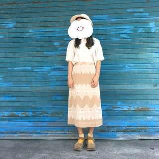 Vintage 日本製復巴洛克古著裙