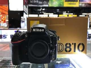Nikon D810 body *SC4800 only