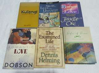 Book Set of Inspirational Books (6 books)