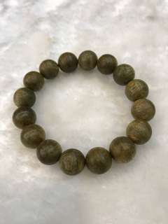 🌿Natural Agarwood Bracelet 🍂 Sumatera 14mm 🌿 沉香静舍 🌿
