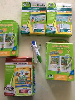 Leap frog reader set