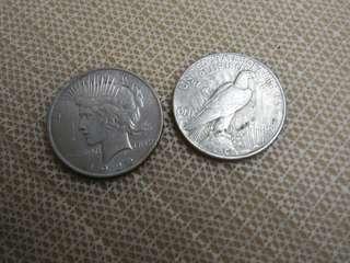 USA Liberty Silver Coin