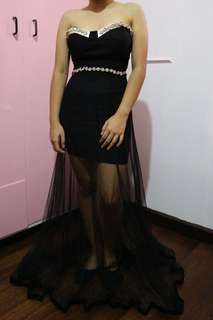 RUSH SELLING!!! Black Prom dress/gown