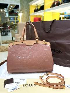 BRAND NEW LV BREA VERNIS MM ❤️BIG SALE P119k ONLY❤️ With dustbag long strap cards and paperbag Swipe for detailed pics  Cash/card/layaway accepted