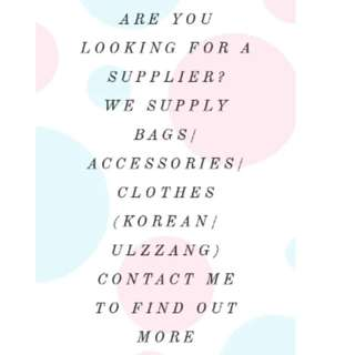 Looking for resellers! i supply bulk purchases!