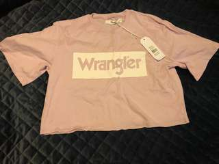 Wrangler Oversize Crop Brand New With Tags