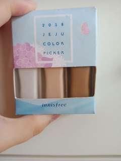 Innisfree 2018 jeju color picker contouring Kit