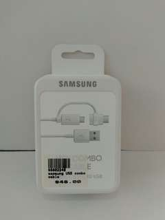 🚚 Samsung USB Combo Cable