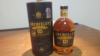 Scotland Aberfeldy 18 year old Highland Single Malt Whisky