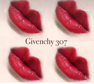 Givenchy rouge lipstick 307