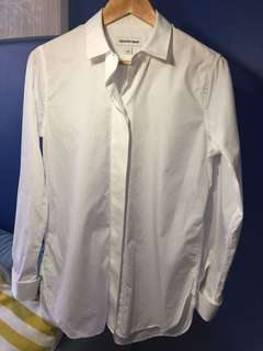 Country Road White Shirt - Women's Size S